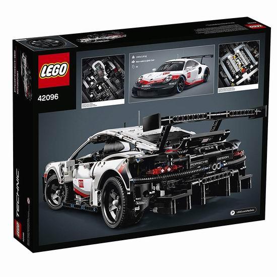 LEGO 乐高 42096 机械组 Porsche 保时捷 911 RSR赛车(1580pcs)8折 159.99加元包邮!