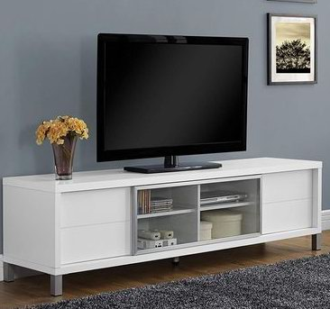 Monarch Specialties I 2537 70英寸电视柜 239.97加元,staples同款价 412.99加元