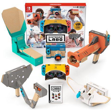 Nintendo 任天堂 最新套件Labo Toy-Con 04套装游戏 99.96加元  动手体感6种创新玩法