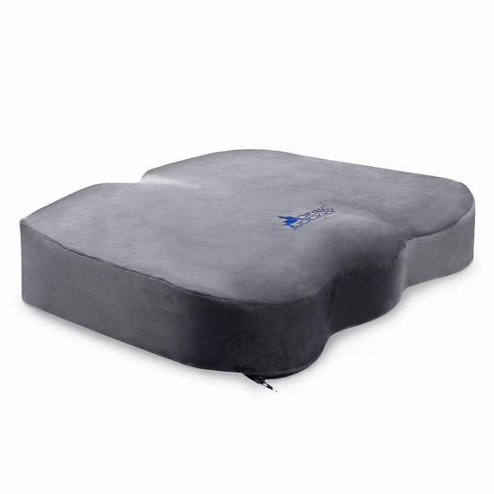 Desk Jockey 治疗级 记忆海绵理疗座垫 33.99加元限量特卖并包邮!