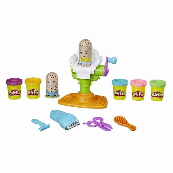 历史新低!Play-Doh 培乐多 Buzz n Cut Barber 美发店 橡皮彩泥套装 6.25加元清仓!