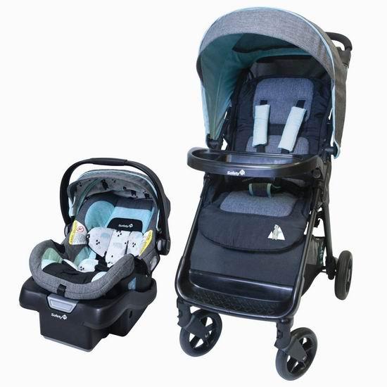 Safety 1st Smooth Ride LX 婴儿推车+提篮套装 199.97加元包邮!4色可选!