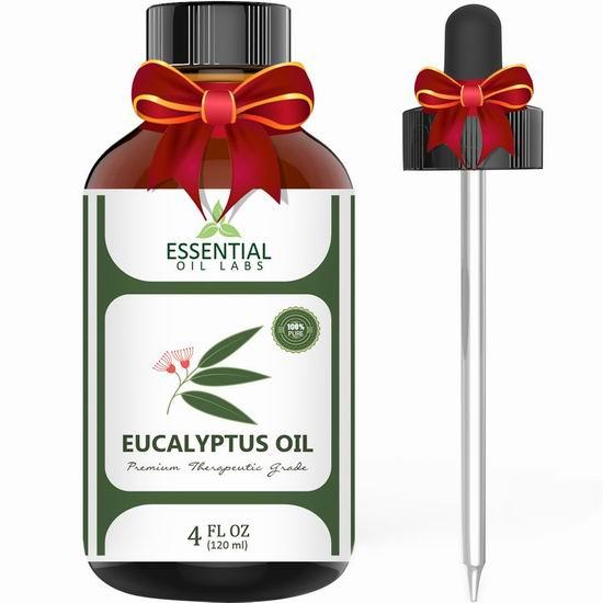 金盒头条:历史新低!精选多款 Essential Oil Labs 纯天然桉树精油、薰衣草精油、摩洛哥坚果精油、茶树精油等13.5加元起!