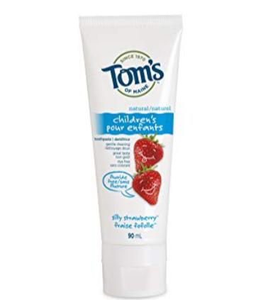 美国个人护理品牌!Tom's of Maine 不含氟天然牙膏 4.22加元起特卖!