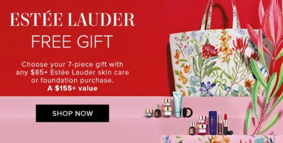 Estee Lauder 雅诗兰黛 满85加元送价值155加元7件套大礼包!收小棕瓶及小棕瓶眼霜!内附单品推荐!