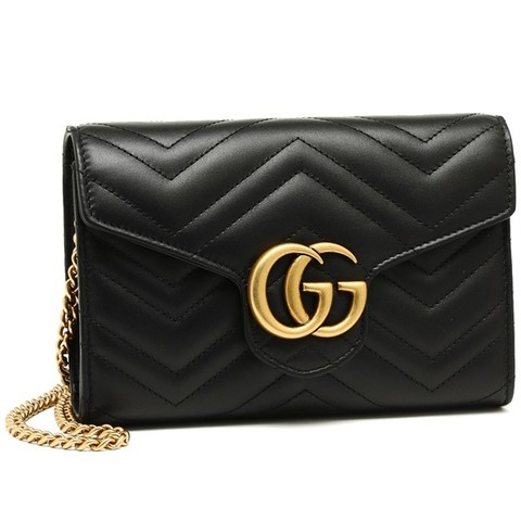 Gucci GG Marmont 2.0 小号链条包 1375加元,原价 1725加元,包邮