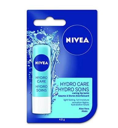 NIVEA Hydro Care 保湿唇膏 0.64加元,原价 1.24加元