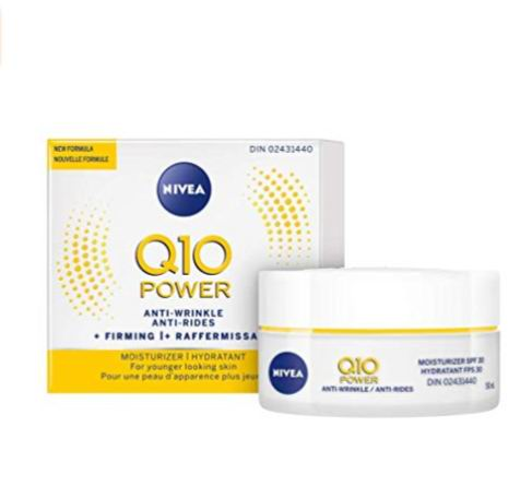 NIVEA Q10 POWER抗皱+紧致保湿日霜SPF 30  14.22加元,原价 16.49加元
