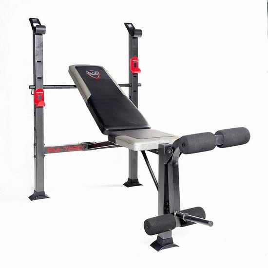 历史新低!CAP Barbell Standard 多功能家用健身凳4.8折 74.99加元包邮!