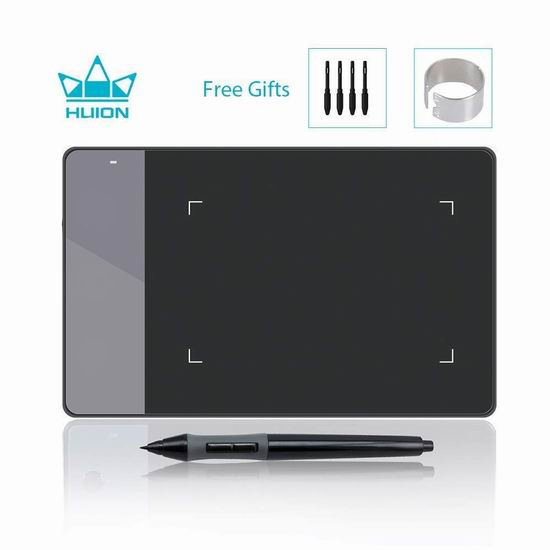 Huion 绘王 420 数位板/绘图板/手写板 26.04加元限量特卖!