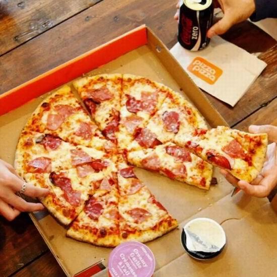庆猛龙队夺冠周年,Pizza Pizza披萨全场5折!仅限6月13日!