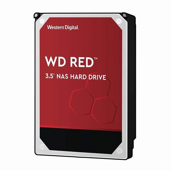 Western Digital 西数 WD Red 红盘 8TB  网络储存(NAS)硬盘 299.99加元包邮!newegg同款原价 399.99加元