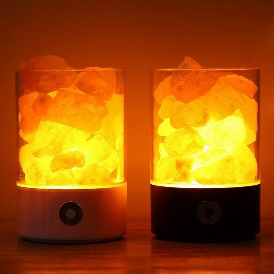 TOMNEW 喜马拉雅天然负离子水晶盐灯 11.04-13.59加元限量特卖!2色可选!