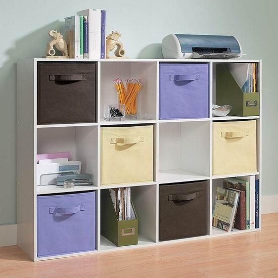 历史新低!ClosetMaid 1290 Cubeicals 白色 12格收纳柜3.8折 90.8加元包邮!