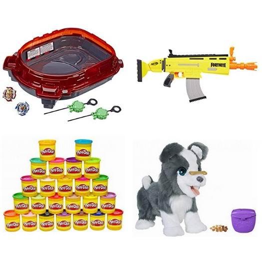 金盒头条:精选 Hasbro、Play-Doh、Star Wars 等品牌儿童玩具4折起!