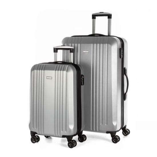 白菜价!Bugatti Whistler 20+28英寸 时尚硬壳拉杆行李箱2件套2.4折 118.99加元包邮!