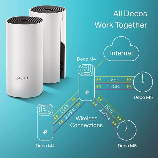 历史新低!TP-Link Deco M4 AC1200 Mesh 家庭Wi-Fi网络覆盖系统(3件套) 169.99加元包邮!