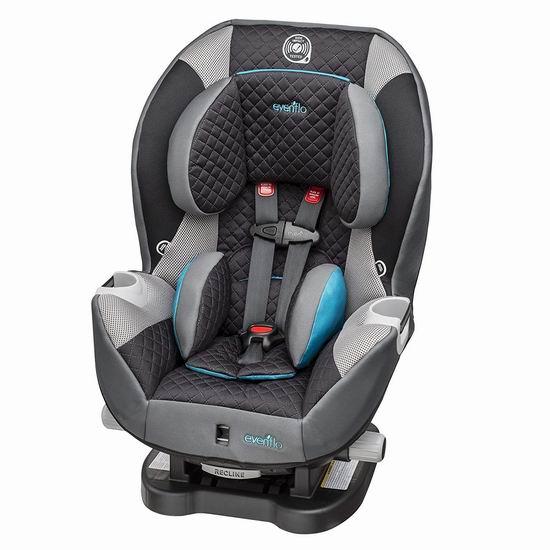 手慢无!Evenflo Triumph LX 成长型儿童汽车安全座椅5.9折 129.99加元包邮!