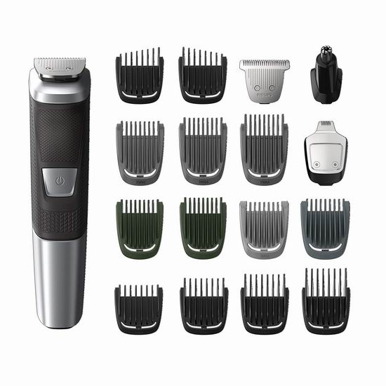 历史最低价!Philips 飞利浦 Multigroom Series 5000 MG5750/18 多功能理发/造型器 34.95加元!