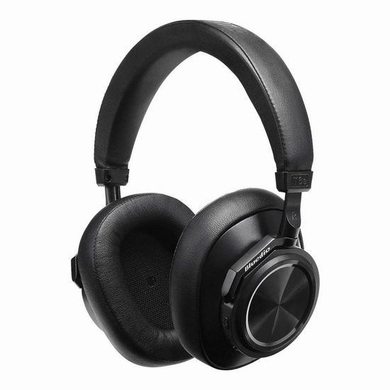独家:历史新低!Bluedio 蓝弦 T6S 深度降噪 智能播放 无线蓝牙头戴式耳机5.8折 52.19加元包邮!免税!3色可选!