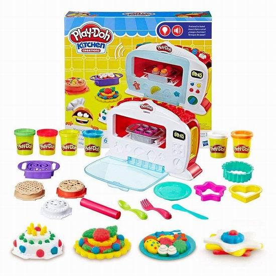 历史新低!Play-Doh 培乐多 Kitchen Creations 神奇烤箱 橡皮彩泥套装4折 14加元清仓!