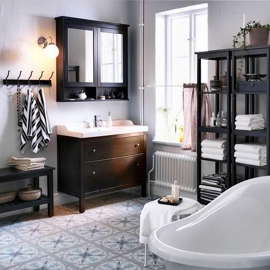 Ikea 宜家 卫生间家具、水槽、收纳架、水龙头和淋浴头等全部8.5折!
