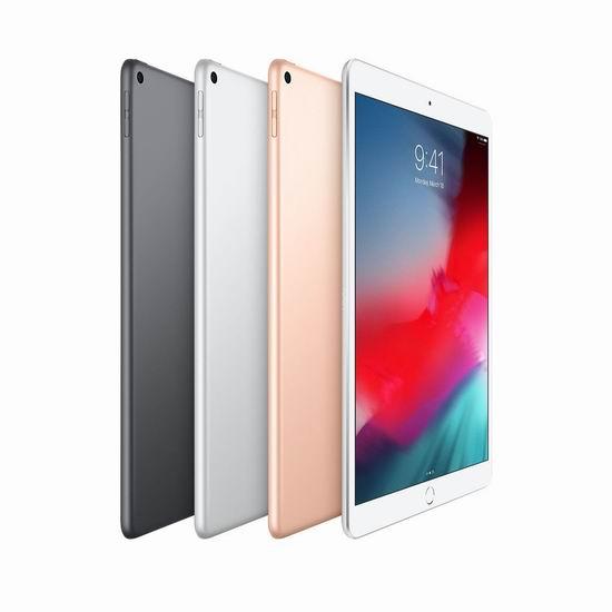 随时失效!Apple iPad Air 10.5吋 视网膜屏 平板电脑7折起,低至474.99加元!多色可选!