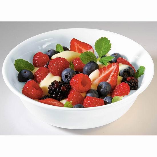 Corelle Winter Frost 18盎司(532ml) 白色餐碗6件套5.8折 21.54加元!
