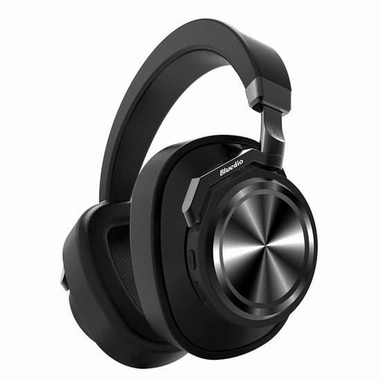 独家:历史新低!Bluedio 蓝弦 T6 (Turbine) 深度降噪 蓝牙5.0 头戴式智能耳机 38.99加元包邮!免税!3色可选!