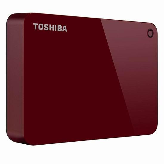 金盒头条:历史新低!Toshiba 东芝 Canvio Advance 4TB 超便携移动硬盘 115.99加元包邮!