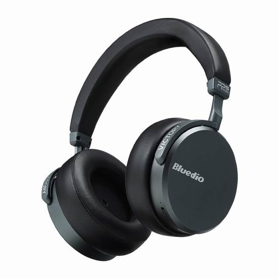 独家:历史新低!Bluedio 蓝弦 V2 (Victory) 12喇叭 顶级智能 HIFI蓝牙耳机4.8折 99.99加元包邮!
