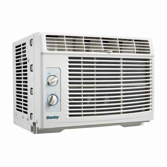 历史最低价!Danby DAC050MB1WDB 5000 BTU 窗式制冷空调4.5折 99.99加元包邮!