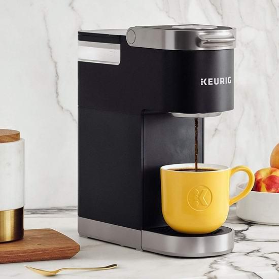历史新低!Keurig K-Mini Plus 超迷你胶囊咖啡机5.4折 89.99加元包邮!2色可选!