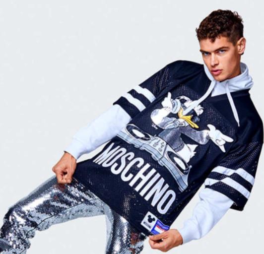 Moschino男士潮鞋、卫衣 、T恤、钱包 5折 106加元起特卖!
