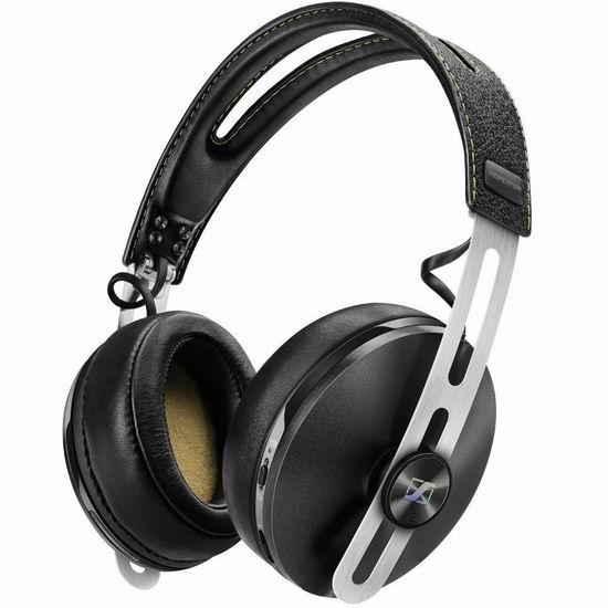 历史最低价!Sennheiser 森海塞尔 Momentum 2 大馒头二代 无线蓝牙 包耳式耳机3.6折 199.97加元包邮!