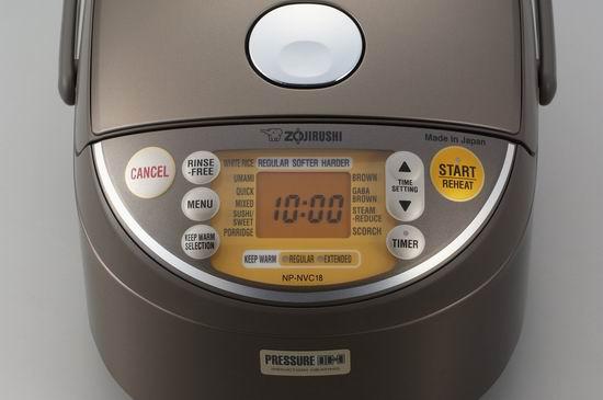 ZOJI Zojirushi 象印 NP-NVC18 10杯量 微电脑智能压力电磁电饭煲 483.98加元包邮!