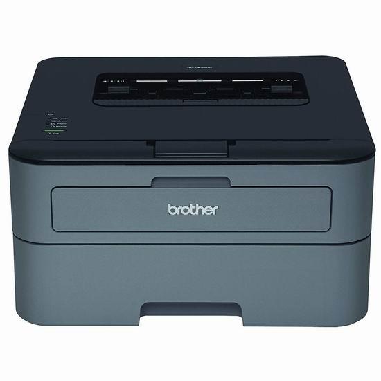 销量冠军!Brother HL-L2320D 黑白激光打印机4.9折 79加元包邮!