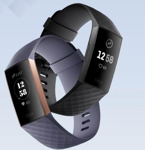 了解自己,才有机会超越自己!Fitbit Charge 3 心率监测智能手表 6.5折 129.95加元(2色),原价 199.95加元加元,包邮