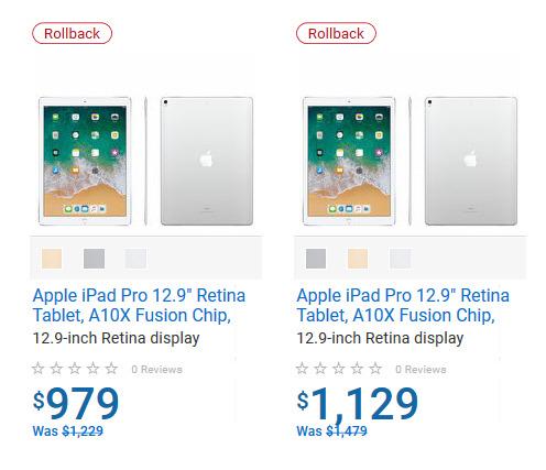 Apple iPad mini/Pro 平板电脑 368加元起特卖!