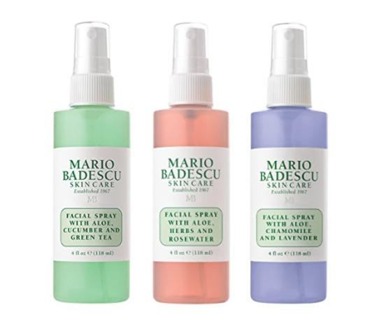 Mario Badescu 玫瑰芦荟保湿喷雾 3瓶×118毫升 8.5折 23.91加元热卖!