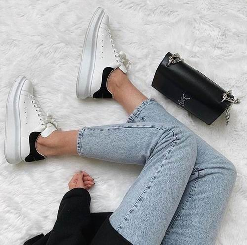 潮人最爱 Alexander McQueen 小白鞋 8.5折,入baby、黄晓明同款!