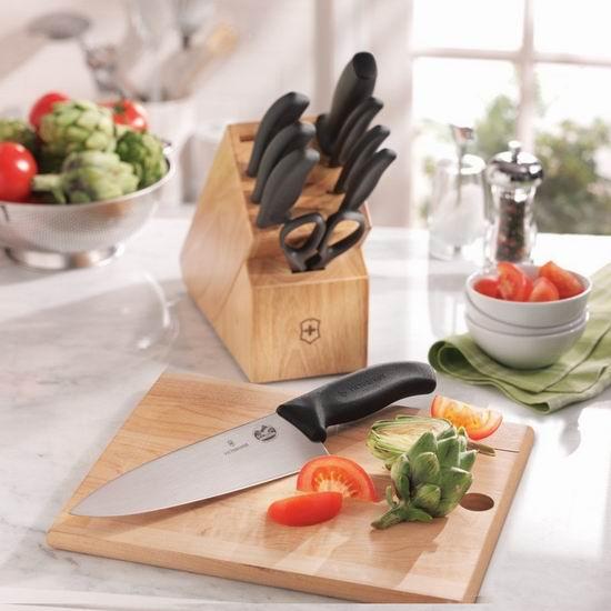 历史新低!Victorinox 瑞士军刀 经典款10件套厨房刀具组合5.2折 159.04加元包邮!