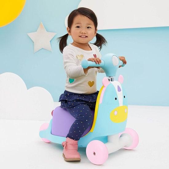 历史新低!新品 Skip Hop 三合一成长型 独角兽 推行/滑行/滑板车 48加元包邮!