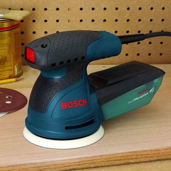 Bosch 博世 Random Orbit ROS20VSC 5英寸 砂光机/抛光机 69.98加元包邮!