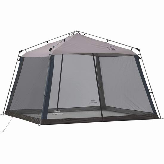 Coleman 11x11英尺 快速安装 防蚊虫防紫外线 遮阳棚7.9折 158.02加元包邮!