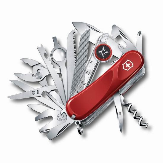 历史新低!Victorinox Swiss Army 正宗瑞士维氏刀 Evolution 32功能刀 103.85加元包邮!