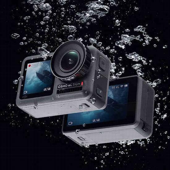 新品 DJI 大疆 Osmo Action 4K HDR 前后双屏 灵眸运动相机 469.99加元包邮!