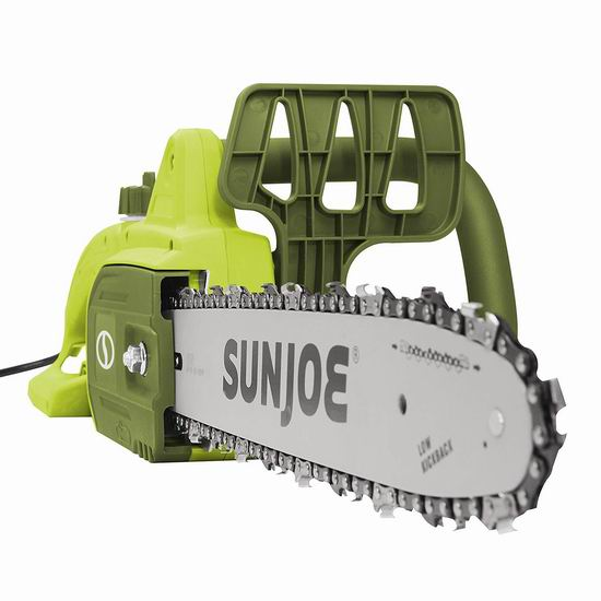 历史新低!Sun Joe SWJ599E 14英寸 9安培 电动链锯5.6折 66.07加元包邮!