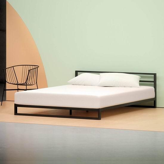 近史低价!Zinus 6英寸绿茶记忆海绵Queen床垫 146.17加元包邮!