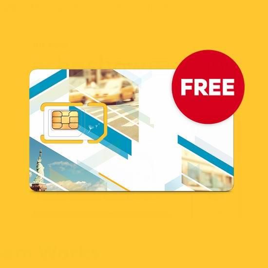 南下美国必备!Roam Mobility 手机SIM卡(价值9.95美元)限时免费!漫游计划低至2.65美元!